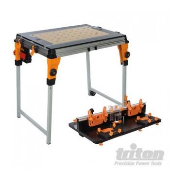 Ensemble Triton Workcentre TWX7 avec module table de défonceuse
