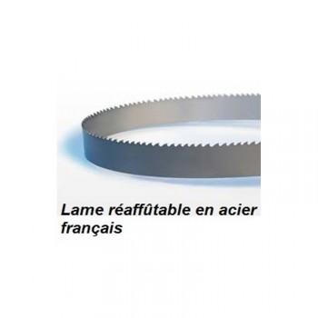 Hoja para sierra de cinta 1875 mm ancho 10 mm espesor 0.36 mm