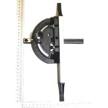 Guide d'angle pour scie sur table Scheppach HS100S et Woodstar ST10S