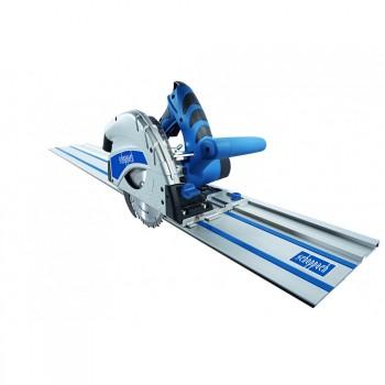 Tauchsäge Scheppach PL55 mit 2 Schienen von 700 mm