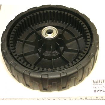Rueda delantera para cortacésped Scheppach MS224-53 y Woodstar TT530SP série n° 0177