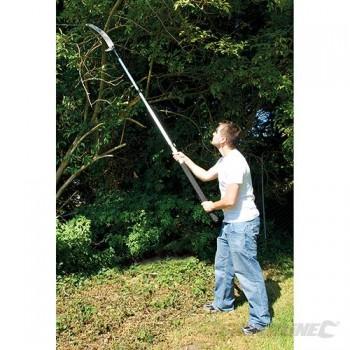 Scie à élaguer télescopique jusqu'à 2.5 mètres