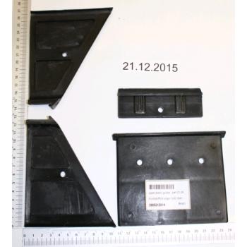 Suola in plastica per spaccalegna Woodster LF90 (dall'alto)