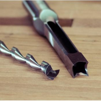 Broca de cincel para escoplear diámetro 12 mm, cola 19 mm - Alta calidad Japonés !