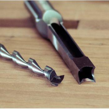 La mecha y bédane dia. 12 mm, la cola de 19 mm