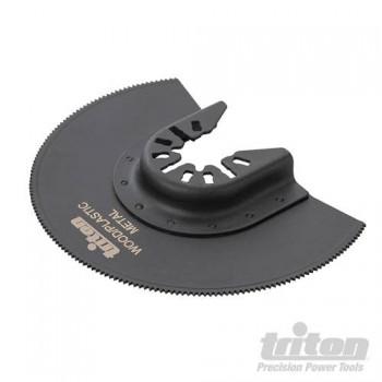 Lame bimétal Triton pour outil multifonction à changement rapide
