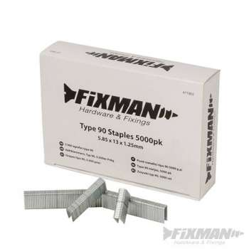 Heftklammern 1.2 mm typ 90 in 13 mm - 5.000 er-Pckg