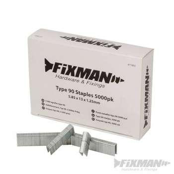 Punti metallici tipo 90 in 13 mm -  5000 pezzi