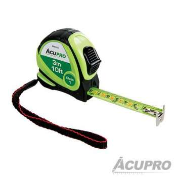 Self-locking tape measure 3 metre