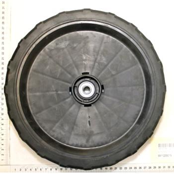 Roue arrière pour tondeuse Scheppach TT530SP série n° 0197