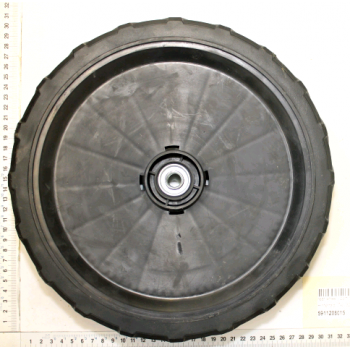 Rear wheel for lawn mower Scheppach TT530SP serie n° 0197