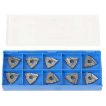 Carbide inserts for 12 mm shank turning tools (pack of 10)