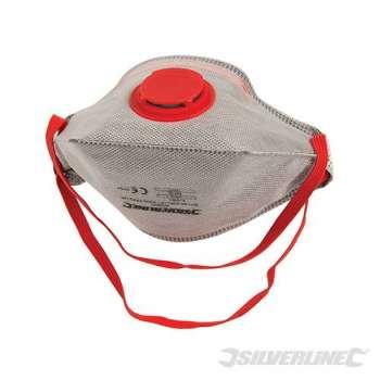 Masque respiratoire pliable à valve FFP3