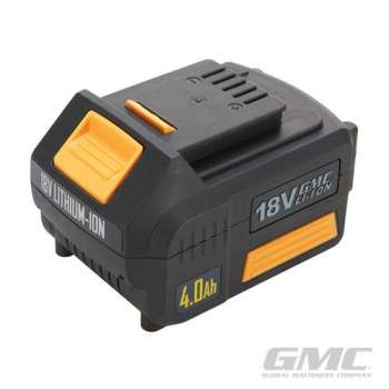 Batterie 4ah pour perceuse à percussion sans fil GMC GMBL18CH