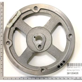 Magnetlenkrad für Rasenmäher Woodstar TT530-SP série n° 0197...