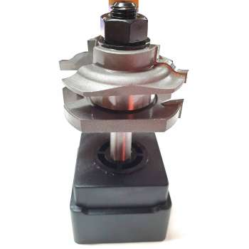 Professional rail & stile router bit - Shank 8 mm
