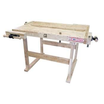 Wooden workbench Holzmann WB155TWIN