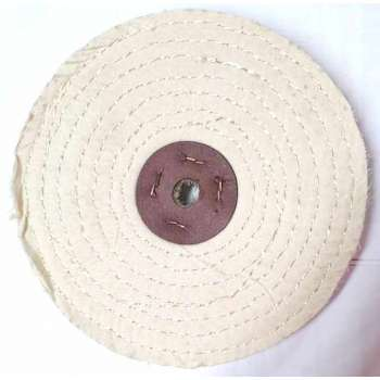 Cotton sisal polishing disc 200 mm for grinding machine
