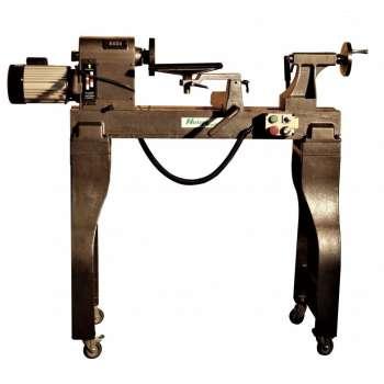 Wood lathe with electronic...