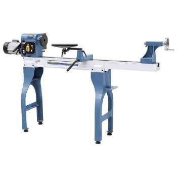 Support de tournage frontal en l'air pour tour à bois Holzprofi MS1624S