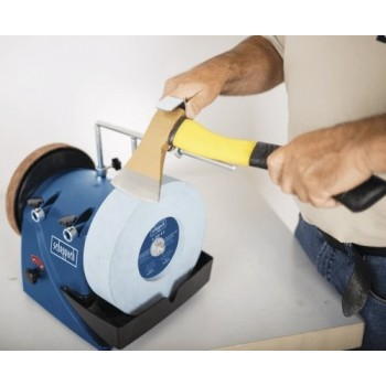 Wet and dry sharpener Scheppach Tiger 3000VS variable speed and 3 jig