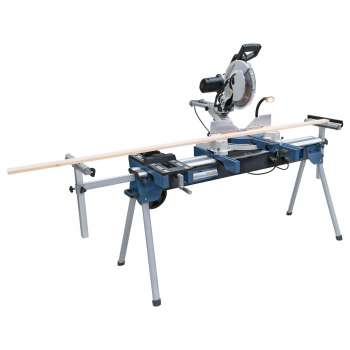 Sliding radial miter saw with dual tilt Holzprofi SRO305 and stand KSU150