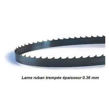 Hoja para sierra de cinta 1875 mm ancho 15 mm espesor 0.36 mm