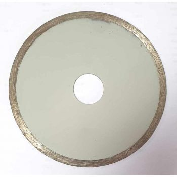 Diamond disc rim continues to the tile 125 mm