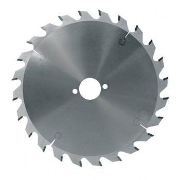 Lame de scie circulaire carbure dia 210 mm - 24 dents alternées (bricolage)
