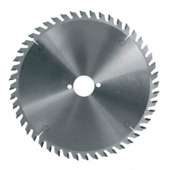 Lame circulaire carbure dia 210 mm - 48 dents alternées négatives (pro)