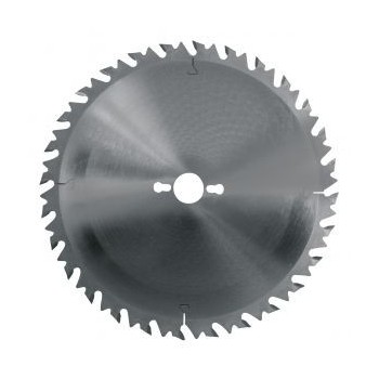 Lame circulaire carbure dia 250 mm - 24 dents alternées anti-recul (pro)