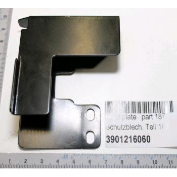 Support protecteur de lame pour scie à onglet radiale Scheppach HM120L