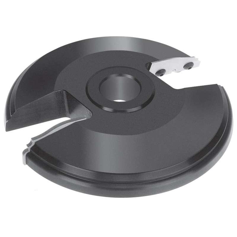 toupie 30 mm Porte outils plate bande 150 mm travail par dessus