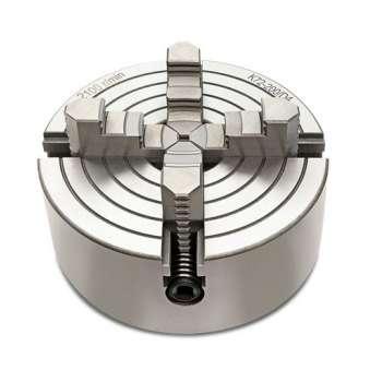 4-Backen-Spannfutter 100 mm für Metalldrehmaschine und Montageflansch