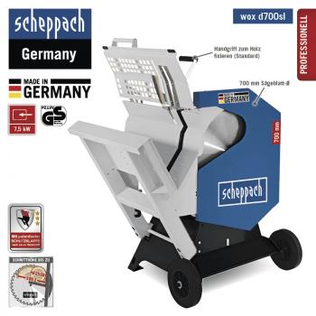 Scie à bûches Scheppach Wox d700sl - 400V