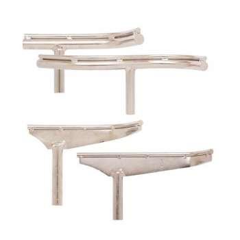 Support d'outils courbes pour tour à bois queue 25 mm