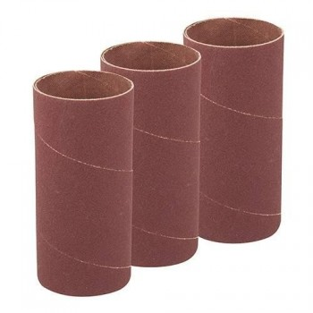 Manchon abrasif Ø51 mm hauteur 114 mm, grain 120 pour ponceuse oscillante (lot de 3)