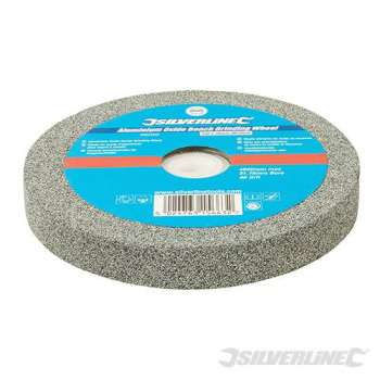 Gray grinding wheel for 150 mm diameter grinder - Medium grain