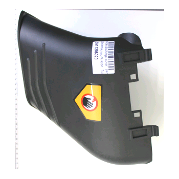 Lateral deflector for lawn mower Woodstar TT530SP n°0197