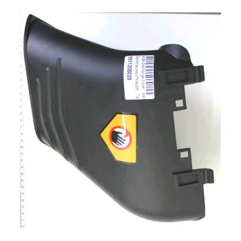 Seitenabweiser für Rasenmäher Woodstar TT530SP n°0197