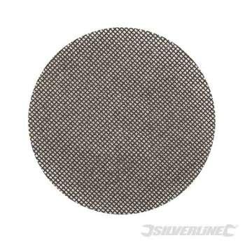 Disco abrasivo con malla abrasiva autoadherente 125 mm grano 40, 10 piezas