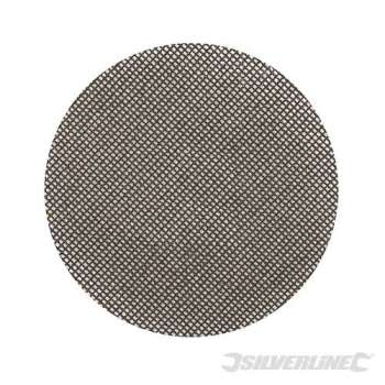 Dischi a rete a fissaggio strappo 125 mm grana 120, 10 pezzi