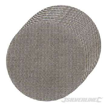 Dischi a rete a fissaggio strappo 225 mm grana 80, 10 pezzi