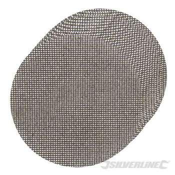 Dischi a rete a fissaggio strappo 225 mm grana 120, 10 pezzi