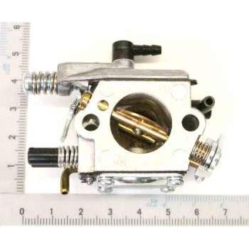 Carburateur pour tronçonneuse Scheppach CSH56 et Woodstar CSP53