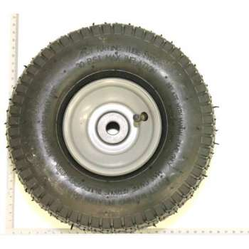Front wheel for lawn mower...