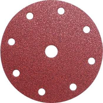 Disque abrasif velcro 8 trous 150 mm Grain 60 - Qualité Pro pour Festool (50 pièces)  !