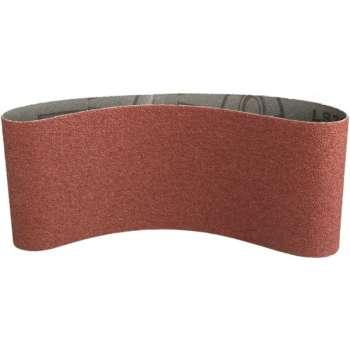 Bande abrasive 100x560 mm support toile Grain 80 - Qualité Pro !