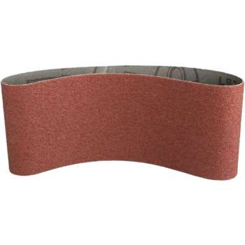 Abrasive belt 100x610 mm 80 grits for portable belt sander - Pro quality !