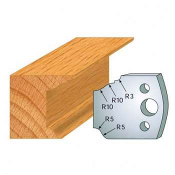 Profile knives or limiters 40 mm n° 79 - crown molding, rustic
